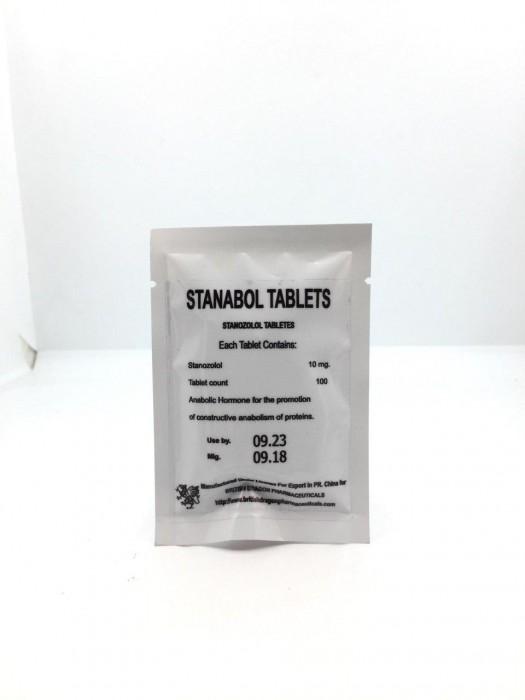 STANABOL TABLETS 10MG/TAB - цена за 100 таб